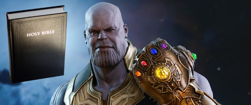 "What does the Bible say about 'Thanos and his 'Infinity Stones""?"